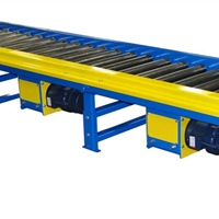 Chain Driven Live Roller Accumulation Conveyor