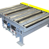 Motorized Roller Conveyor with Chain Transfer