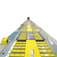 In floor Conveyor for Large Appliance Assembly