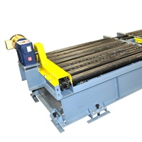 dual-lane-chain-driven-live-roller-conveyor-with-chain-transfer