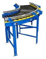 Tire & Wheel Conveyor Curve-Chain Driven Live Roller Conveyor