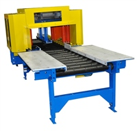 Tire & Wheel Conveyor Ejector with Work Table