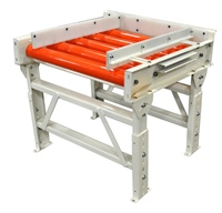 CDLR with Plastisol Covered Rollers & Adjustable UHMW Side Rails