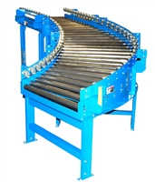 Gravity Roller Conveyor with Skatewheel Side Rails