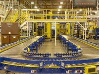Tire & Wheel Conveyor System