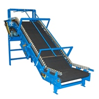 Tire Conveyor for Elevation Change