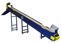 trough-conveyor-with-custom-infeed-hopper-&-discharge-chute