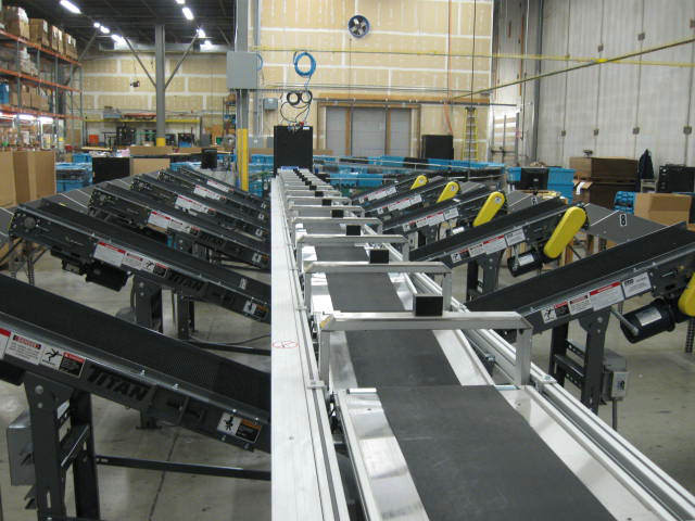 Custom Conveyors Manufacturing Packaging Assembly