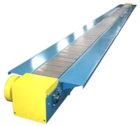 Slat Conveyor with Worktables for Assembly Line