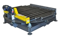 Turntable Conveyor with Chain Driven Live Roller Conveyor