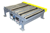Motorized Roller Conveyor with Chain Transfer for Pallets