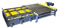 Chain Transfer Conveyor from Chain Driven Live Roller Conveyor