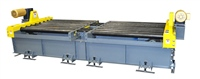 Heavy Duty Dual Lane CDLR Conveyor with Chain Transfer