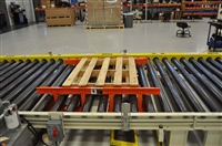 Pallet Centering System in CDLR Conveyor
