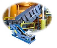 Heavy Duty Chain Edge Belt Conveyor for Corrugated, Paper Handling, Solid Waste & Feeding Pulpers