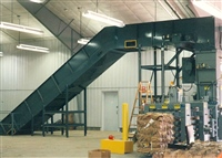 Feeding Baler with Chain Edge Belt Conveyor