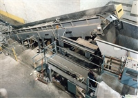 "Metal Recycling with 6"" Hinged Steel Belt Conveyor"