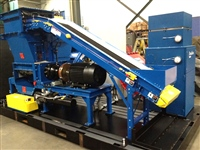 incline slider bed belt conveyor