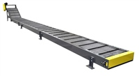 Long Hinged Steel Belt Conveyor-Cleated Belt-Top Mount Drive