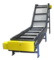 Special Drive Hinged Steel Belt Parts Conveyor