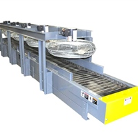 custom-hinged-steel-belt-conveyor-for-foundry-industry