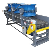 wire mesh cooling conveyor