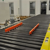 chain-driven-live-roller-conveyor-with-pallet-centering