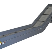 hinged-steel-belt-conveyor-for-chip-scrap-removal