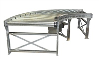 galvanized-curve-conveyor