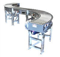 galvanized-construction-belt-driven-live-roller-conveyor