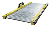 galvanized roller chain driven live roller conveyor