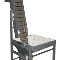 hinged-steel-belt-parts-conveyor-with-hopper