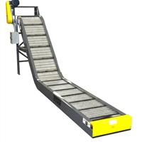 "2-1/2""-pitch-hinged-steel-belt-conveyor-top-mount-drive"
