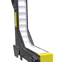 parts-conveyor-plastic-belt-&-scoops-model-340