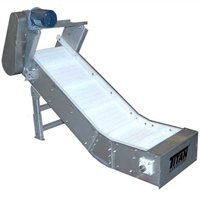 Stainless Cleated Belt Conveyor