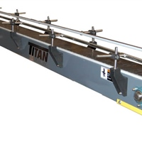 Table Top Conveyor with Adjustable Side Rails