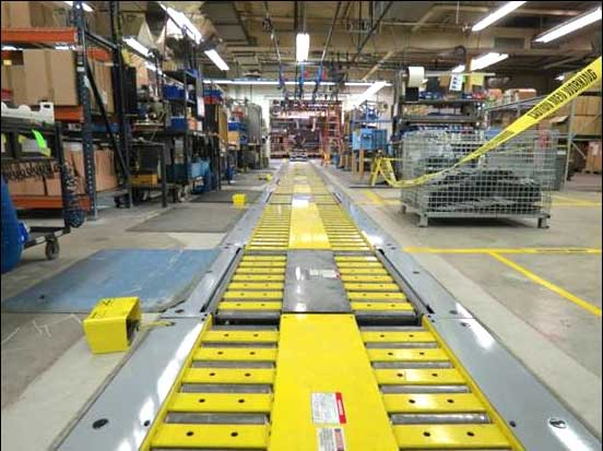 Automated Assembly Line Conveyor Systems Robotics