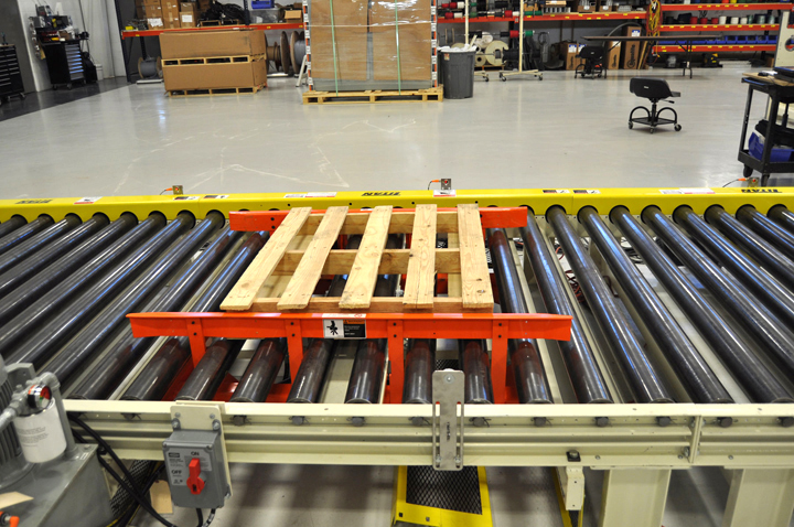 Pallet Conveyor Handling Systems Load Handling Solutions