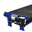 wide slider bed belt conveyor rough top belt side mount drive