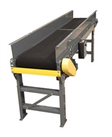 "slider-bed-belt-conveyor-with-6""-fixed-side-rails"
