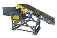 adjustable slider bed conveyor feeding slider bed conveyor