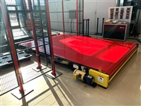 slider bed belt conveyor - wide