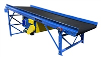 incline slider bed conveyor