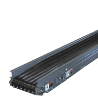 troughed belt slider bed conveyor