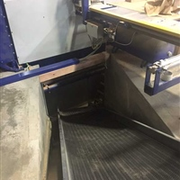 troughed-belt-conveyor-carrying-scrap