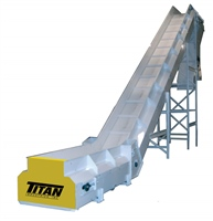 sidewall-conveyor-with-high-side-rails-floor-to-floor-with-special-discharge-chute