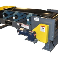 Three-Roll-Trough-Conveyor-Model-460 Side Mount Drive