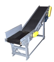 floor-to-floor-conveyor-with-infeed-side-rails-&-power-feeder