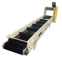 cleated belt conveyor - top mount drive