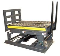 pulp-bale-down-ender-with-dual-lane-chain-driven-live-roller-conveyor